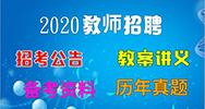 山东教师招聘网  2020山东聊城高新区